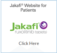 Image of Jakafi Website for Patients and Jakafi Logo