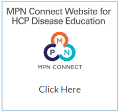 Image of MPN Connect Website for HCP Disease Education and MPN CONNECT Logo