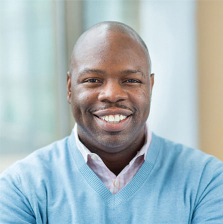 Image of Incyte team member Khary Adams, Director, Laboratory Resources.